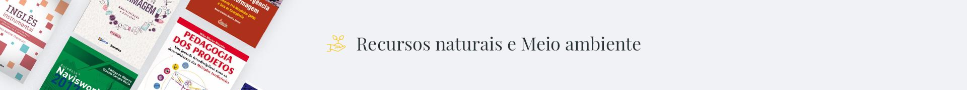Recursos Naturais e Meio Ambiente