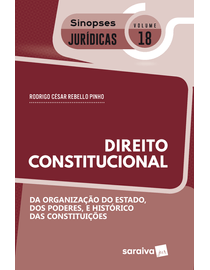 Sinopses-Juridicas-18---da-Organizacao-do-Estado-dos-Poderes-e-Historico-das-Constituicoes