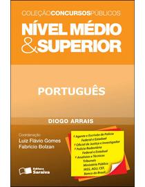 Colecao-Concursos-Publicos---Nivel-Medio---Superior---Portugues