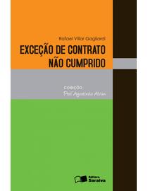 Excecao-de-Contrato-Nao-Cumprido-Colecao-Professor-Agostinho-Alvim-