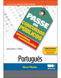 Colecao-Passe-em-Concursos-Publicos---Questoes-Comentadas---Portugues--Nivel-Medio-