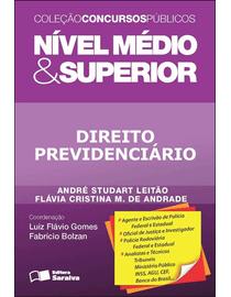 Colecao-Concursos-Publicos---Nivel-Medio-e-Superior---Direito-Previdenciario