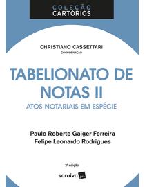 Colecao-Cartorios---Tabelionato-de-Notas---Atos-Notariais-em-Especie