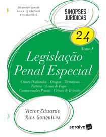 Colecao-Sinopses-Juridicas-Volume-24---Legislacao-Penal-Especial---TOMO-I---24ª-Edicao