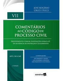 Comentarios-ao-Codigo-de-Processo-Civil-Volume-VII---Artigos-318-a-368---3ª-Edicao