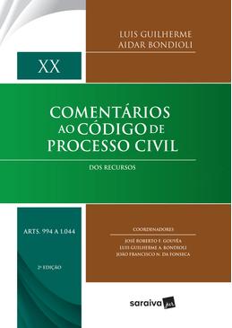 Comentarios-ao-Codigo-de-Processo-Civil---Dos-Recursos---Volume-XX---2ª-Edicao