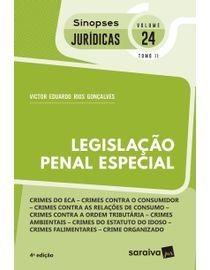 Colecao-Sinopses-Juridicas-Volume-24---Legislacao-Penal-Especial---TOMO-II---4ª-Edicao-