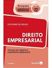 olecao-Sinopses-Juridicas-Volume-22---Direito-Empresarial---Titulos-de-Credito-e-Contratos-Mercantis-