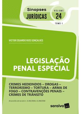 Colecao-Sinopses-Juridicas-Volume-24---Legislacao-Penal-Especial---TOMO-I---14ª-Edicao-