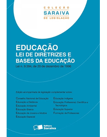 Colecao-Saraiva-de-Legislacao---Lei-de-Diretrizes-e-Bases-da-Educacao