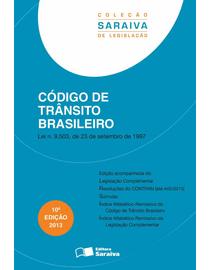 Colecao-Saraiva-de-Legislacao---Codigo-de-Transito-Brasileiro---10ª-Edicao