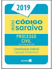 Minicodigo-Saraiva---Processo-Civil---Constituicao-Federal---25ª-Edicao