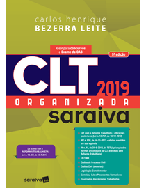 CLT-Organizada-Saraiva-2019---6ª-Edicao