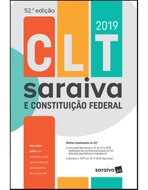 CLT-Saraiva-e-Constituicao-Federal-2019---52ª-Edicao