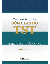 Comentarios-as-Sumulas-do-TST---16ª-Edicao