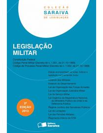 Colecao-Saraiva-de-Legislacao---Legislacao-Militar---2ª-Edicao
