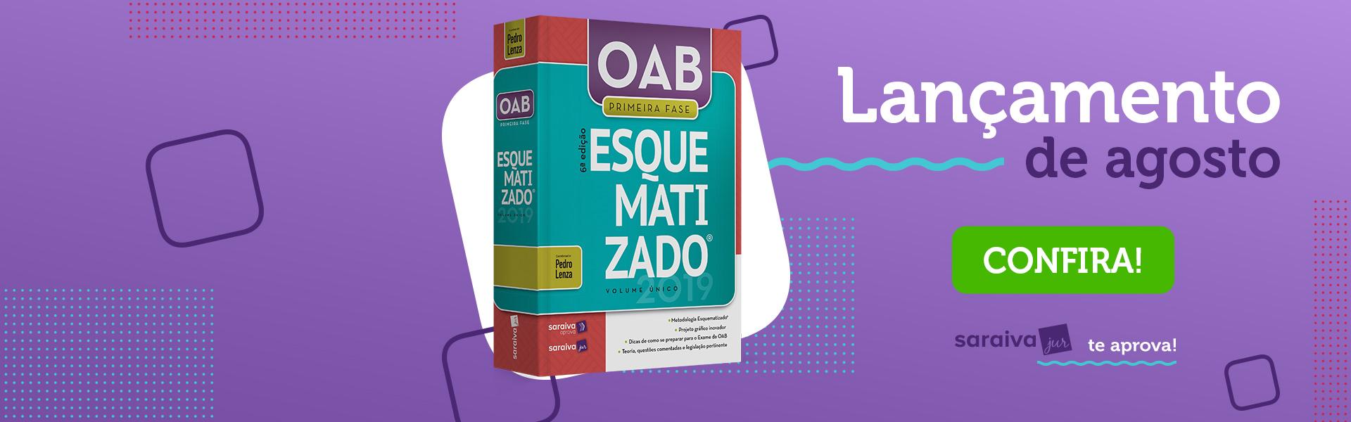 OAB Esquematizado 2019