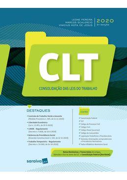 CLT---Consolidacao-das-Leis-do-Trabalho-2020---2ª-Edicao