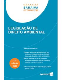 Colecao-Saraiva-de-Legislacao---Legislacao-de-Direito-Ambiental---13ª-Edicao