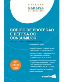 Colecao-Saraiva-de-Legislacao---Codigo-de-Protecao-e-Defesa-do-Consumidor---30ª-Edicao