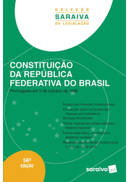 Colecao-Saraiva-de-Legislacao---Constituicao-da-Republica-Federativa-do-Brasil---56ª-Edicao