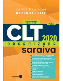 CLT-Organizada-Saraiva-2020---7ª-Edicao