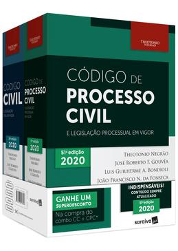 Combo-Codigo-Civil-e-Legislacao-Civil-em-Vigor---Codigo-de-Processo-Civil-2020