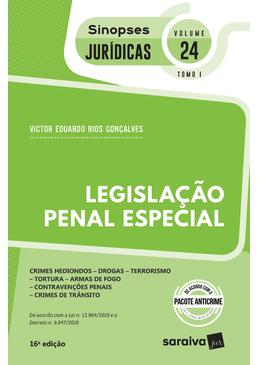 Colecao-Sinopses-Juridicas-Volume-24---Legislacao-Penal-Especial---TOMO-I---16ª-Edicao