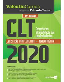 CLT---Comentarios-a-Consolidacao-das-Leis-de-Trabalho-2020---44ª-Edicao