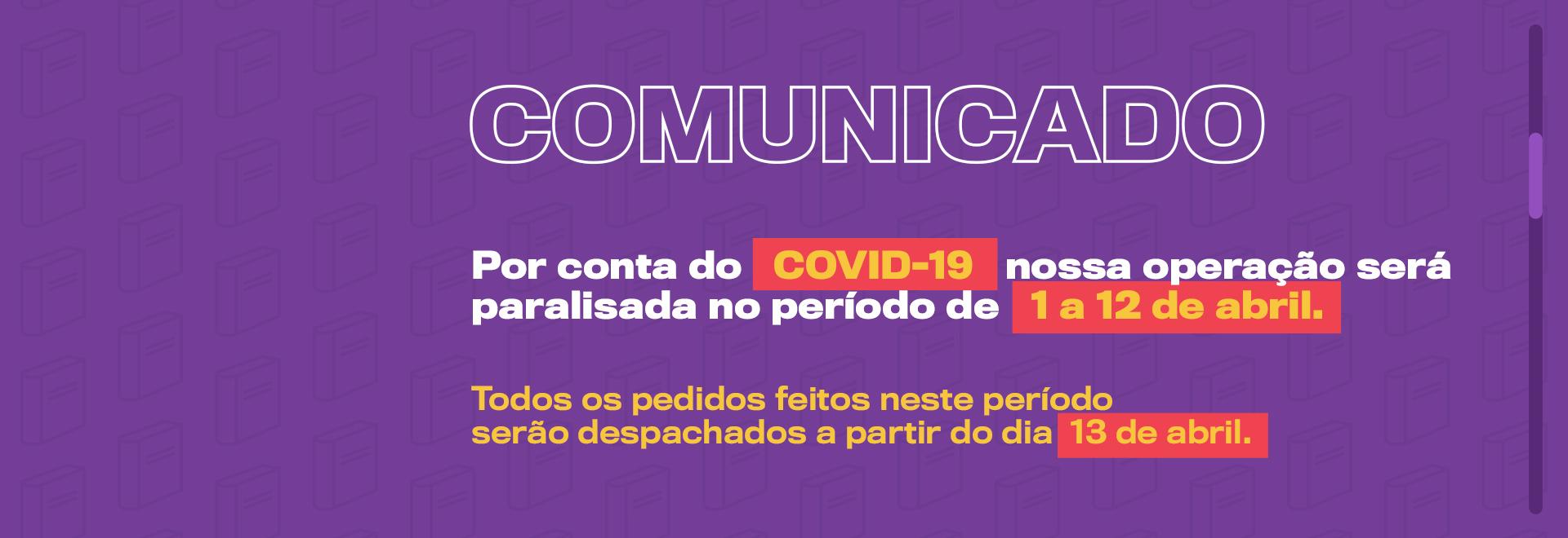Covid-19 | Comunicado