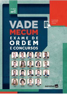 Vade Mecum Exame de Ordem e Concursos - 3ª Edição 2021