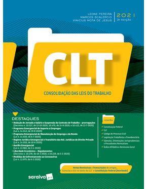 CLT---Consolidacao-das-Leis-do-Trabalho---3ª-Edicao-2021
