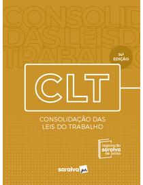 Legislacao-Saraiva-de-Bolso---CLT---Consolidacao-das-Leis-de-Trabalho---14--Edicao-2021