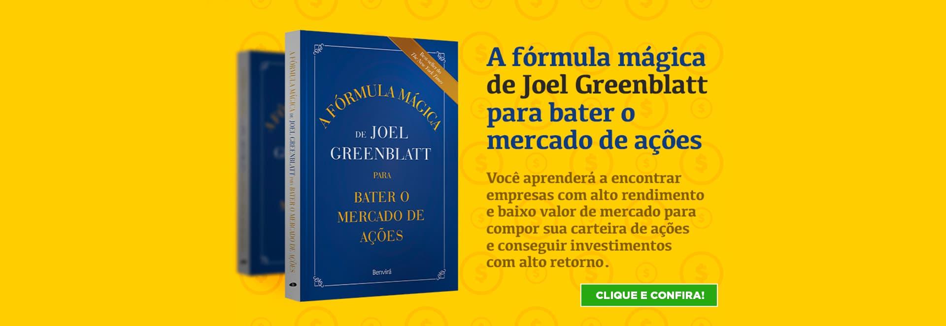 A Fórmula Mágica de Joel Greenblatt