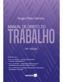 Manual-de-Direito-do-Trabalho--14ª-Edicao-2021